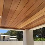 Floreat Cedar Lining to Alfresco