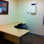 ICRG Office Fitout. One Office after completion.