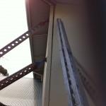 Tilt panel props for panel stabilisation.