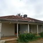 "820 Beaufort St, Inglewood. Rear elevation ""Before"" renovation."